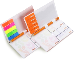 Adhesive note pads with pen (pencil) ANP-14